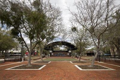 Bo Diddley Plaza Improvements Now Complete in Downtown Gainesville