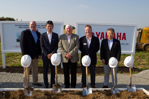 Yamaha Marine Precision Propellers, Inc., Breaks Ground on New Greenfield Facility