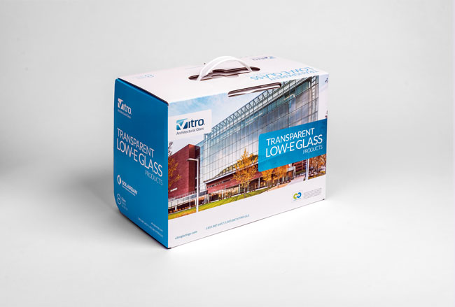 Two new glass sample kits available from Vitro Glass online fulfillment center