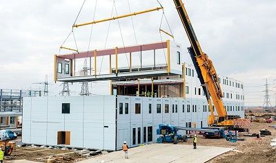 Major Growth Expected for Prefabrication and Permanent Modular Construction New Study Finds